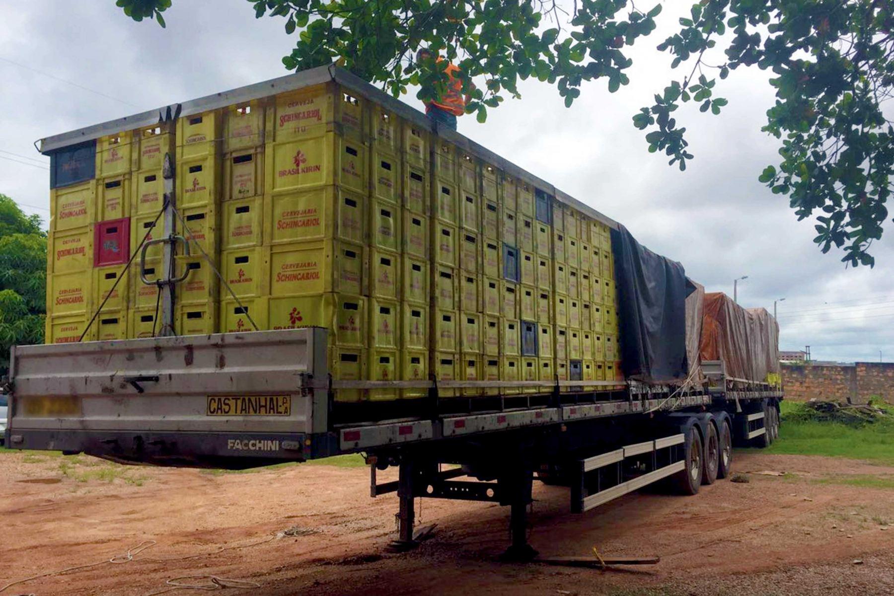 Mais de 71 mil latas de cerveja são apreendidas em rodovia com destino a Parauapebas