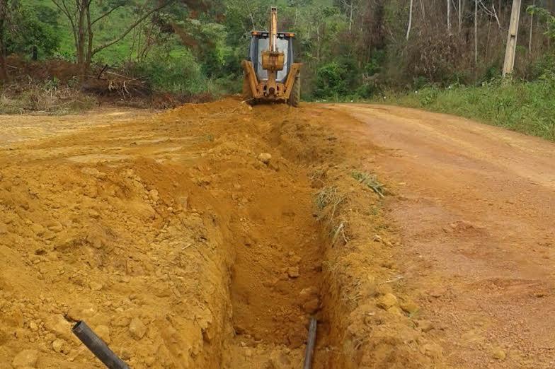 Pela primeira vez, Vila Conquista recebe rede de abastecimento de água