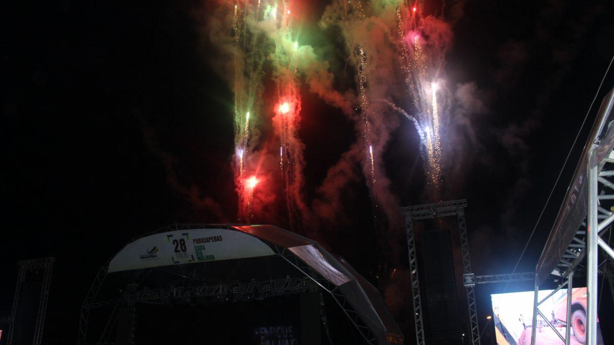Henrique e Juliano: Show atrai multidões em comemoração as 28° aniversario de Parauapebas