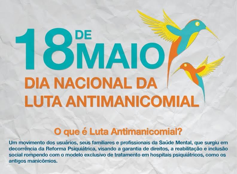Parauapebas: Secretaria de Saúde realiza programação alusiva ao Dia Mundial de Luta Antimanicomial