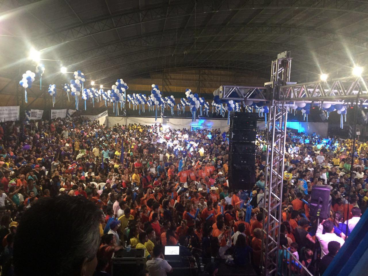 Pré-candidatura de Valmir Mariano à prefeitura de Parauapebas bate recorde de público