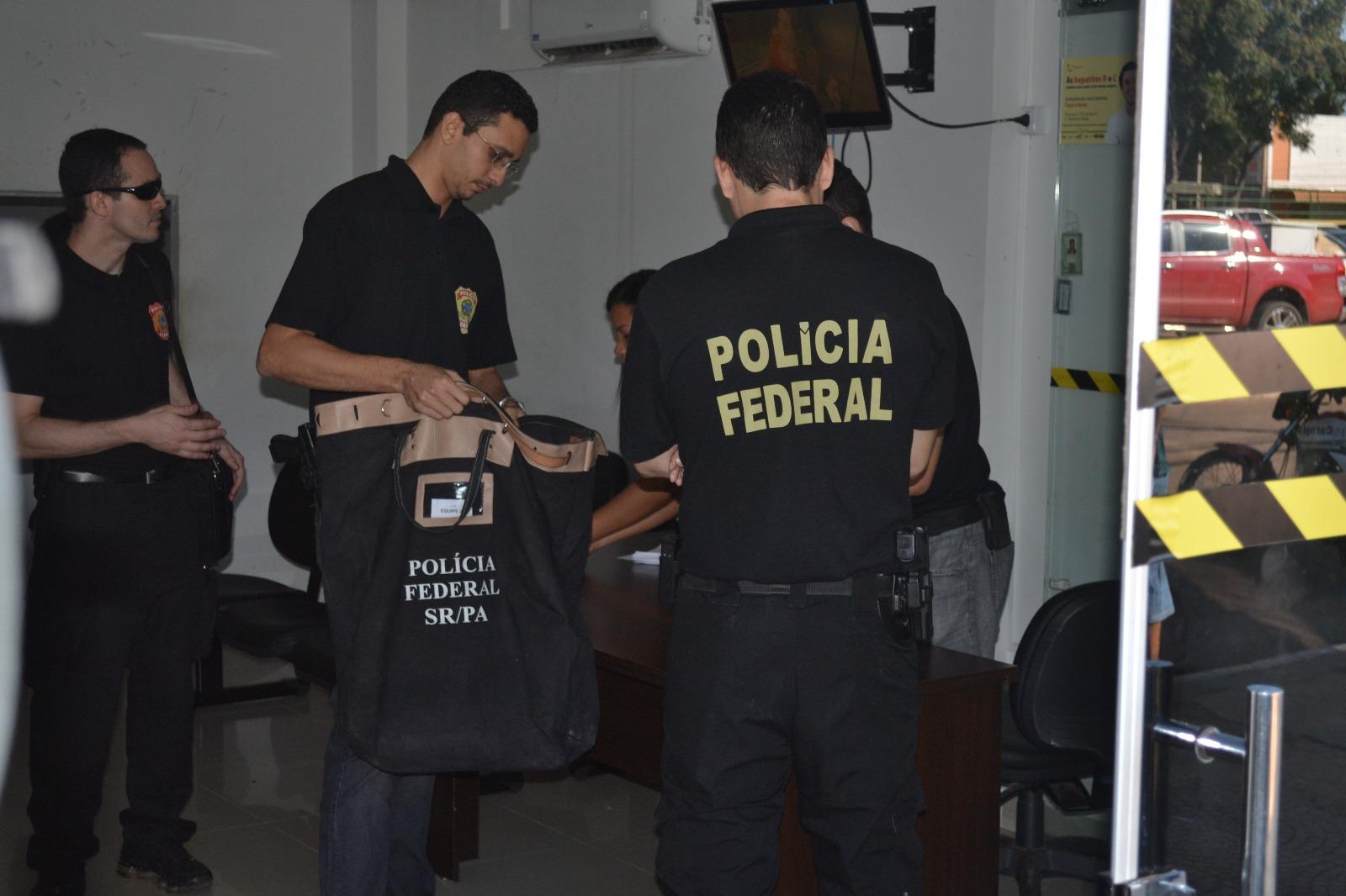 Operação Asfixia: Policia Federal cumpre mandado na Prefeitura de Parauapebas e Marabá
