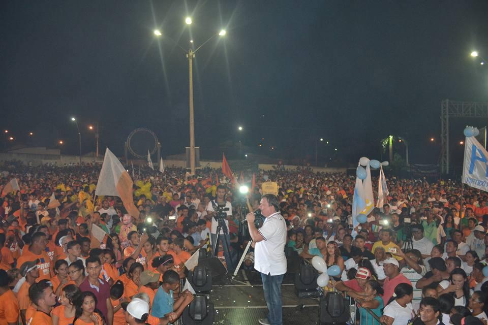 Eleição 2016: Darci Lermem (PMDB) lança sua pré candidatura com recorde de publico em Parauapebas