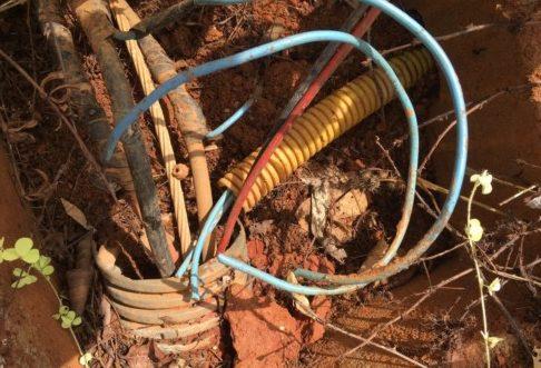 Roubo de cabos subterrâneos prejudica a iluminação pública de Parauapebas