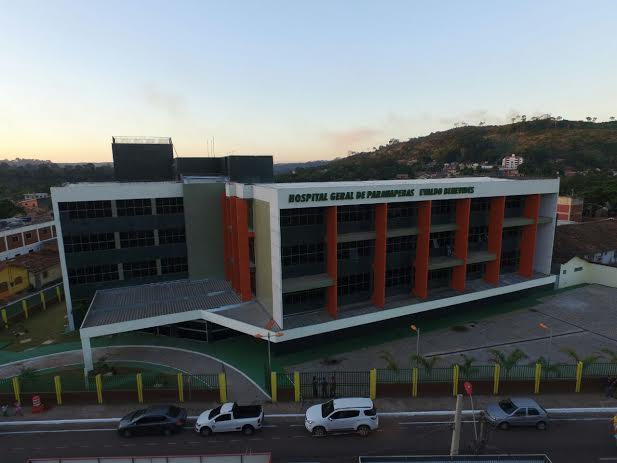Cronograma de funcionamento do Hospital Geral de Parauapebas