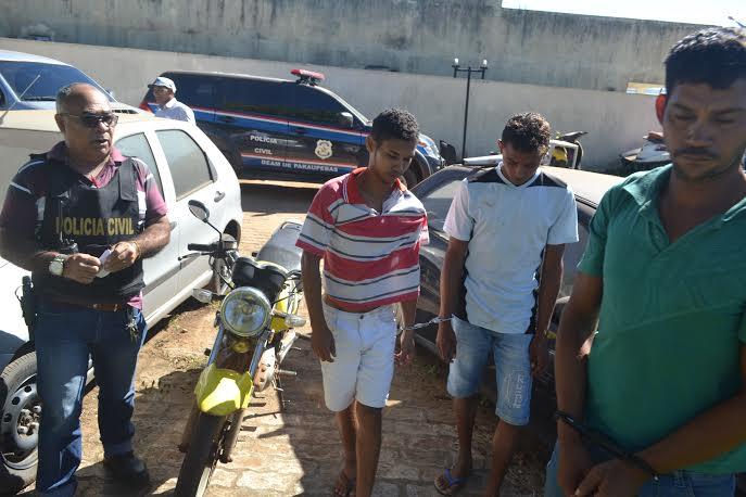 Polícia Civil desarticula trio da mesma família que praticava assaltos em Parauapebas