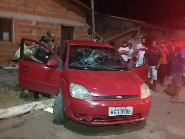 Parauapebas: Motorista bêbado escapa de linchamento no bairro Novo Horizonte