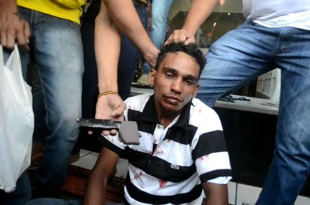Parauapebas: Homem tenta assaltar loja com arma de brinquedo