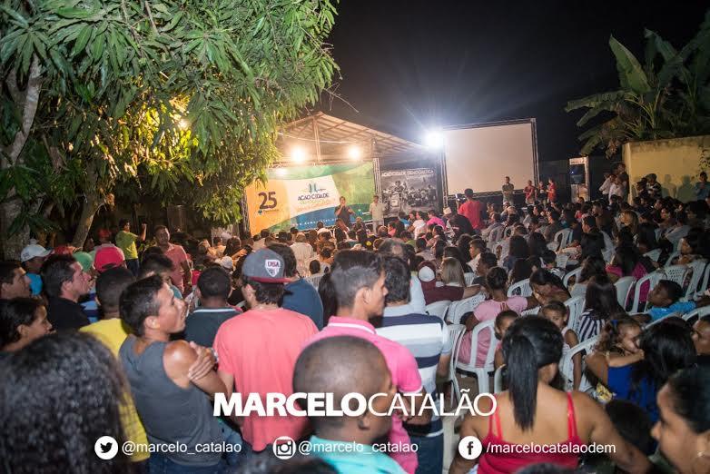 Ação Cidade Democrática ouve moradores dos  bairros Casas Populares I e II