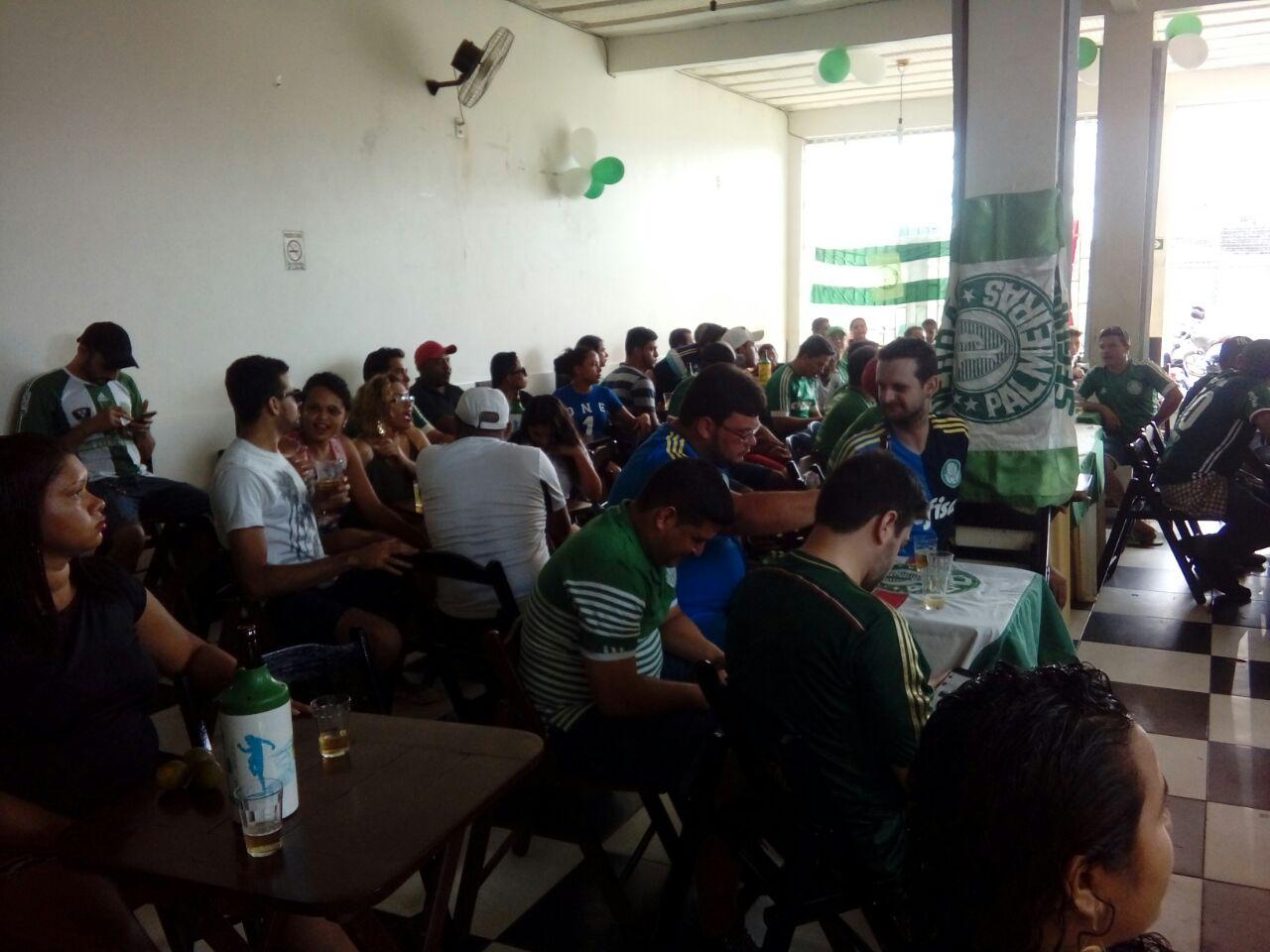 Palmeirenses comemoram o titulo em Parauapebas