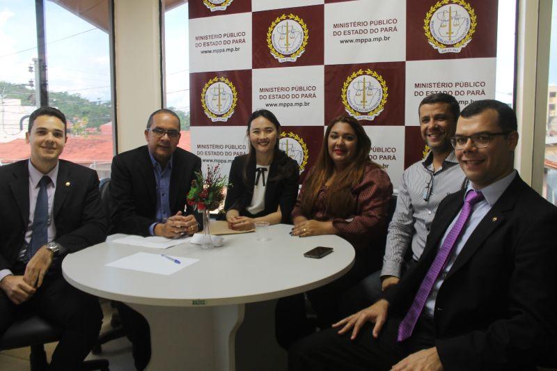 Parauapebas: Procurador-geral de Justiça recebe promotores em reunião de trabalho