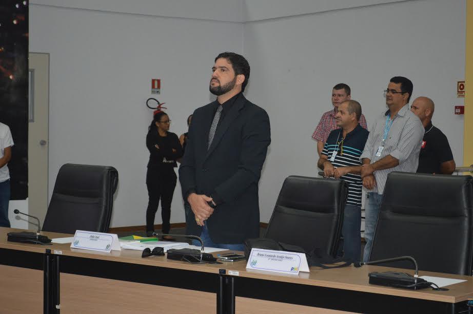Câmara Municipal de Parauapebas: Vereador Bruno Soares pede licença médica por 45 dias