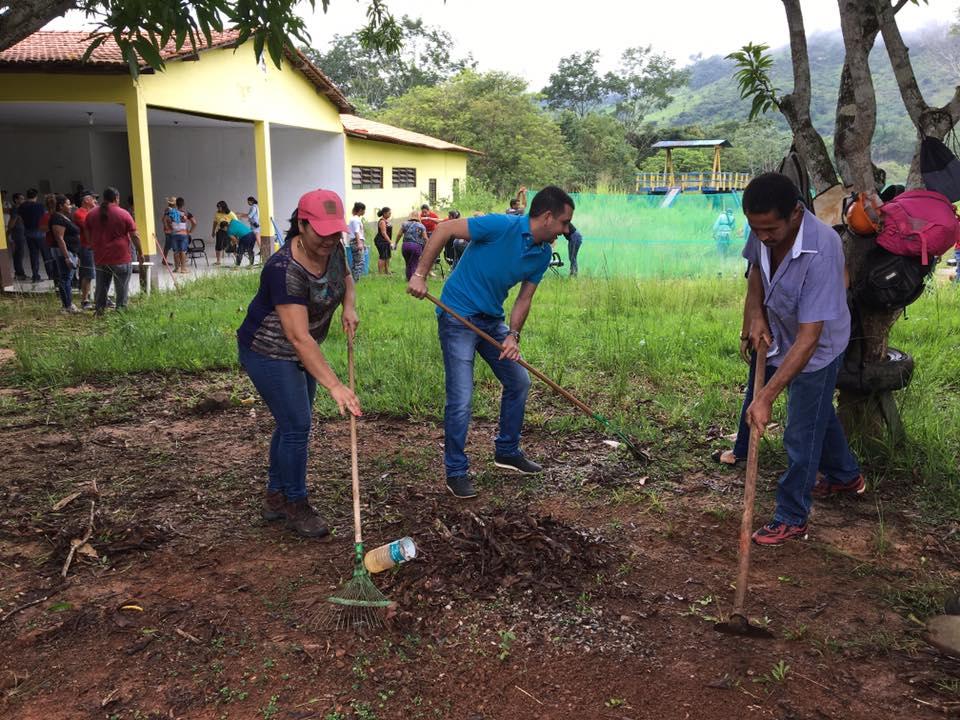 Em Parauapebas, mutirão de limpeza é realizado para reabertura do Projeto Pipa
