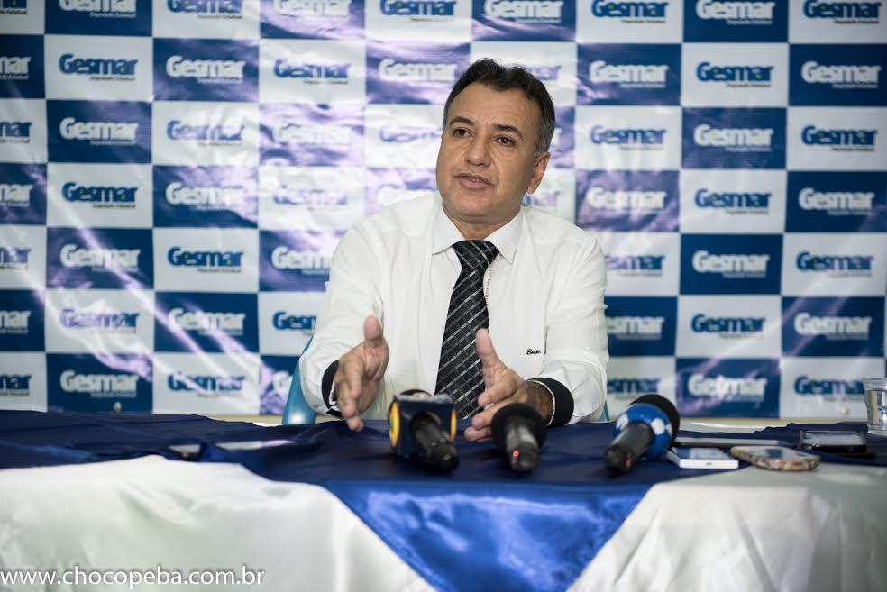 Deputado Gesmar Costa concede entrevista coletiva e fala dos projetos para Parauapebas e região