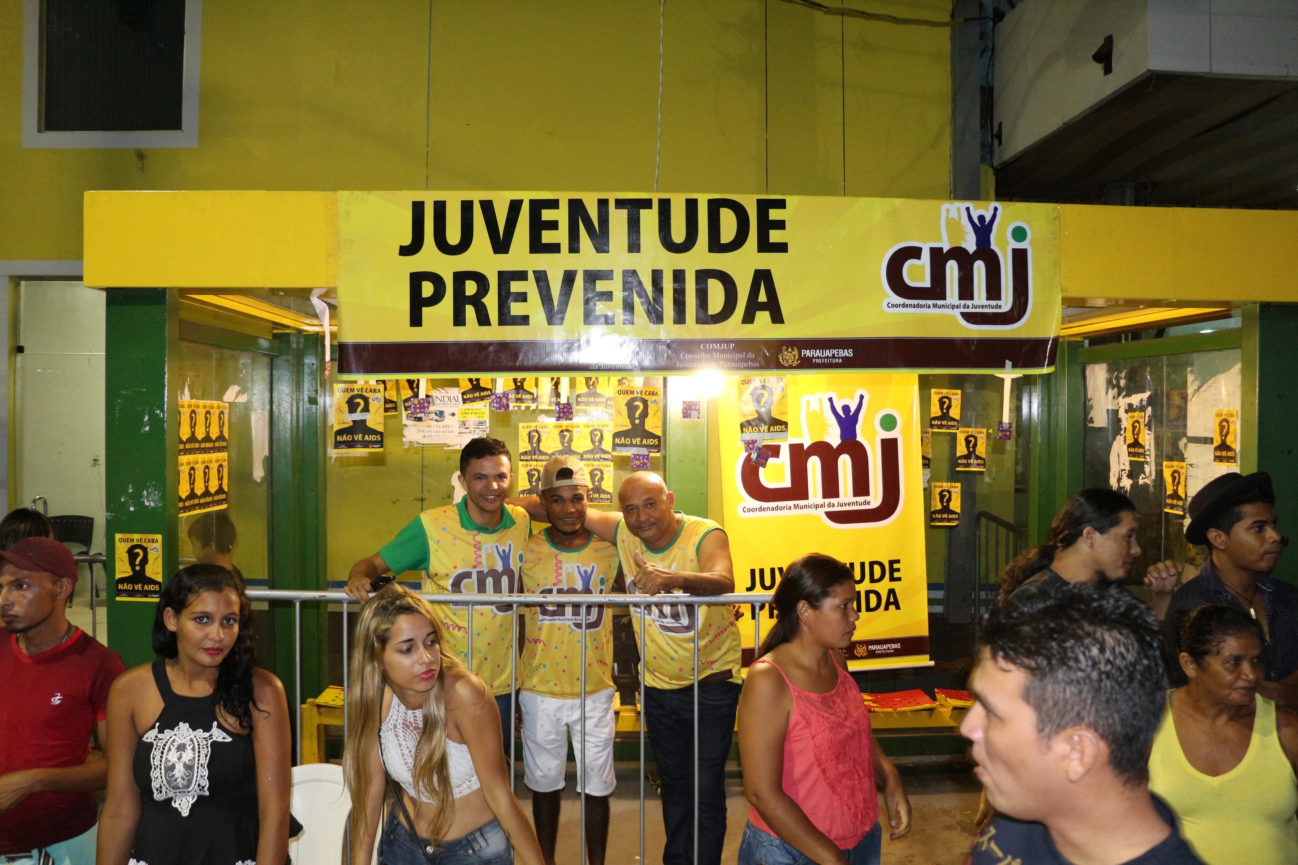 Coordenadoria da Juventude realiza campanha de prevenção no carnaval de Parauapebas