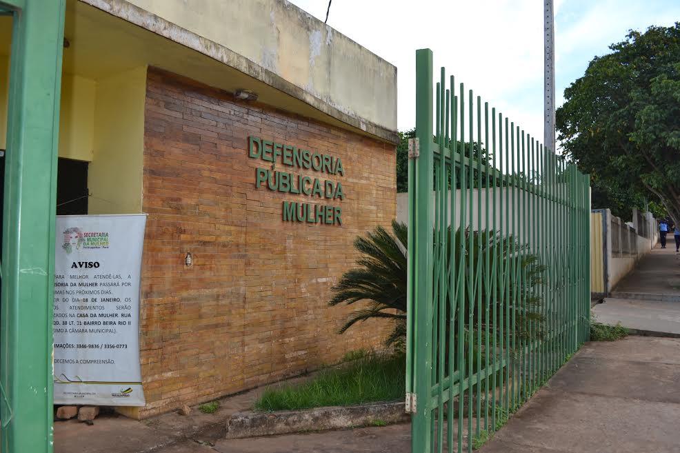Em Parauapebas, defensoria da Mulher será reformada