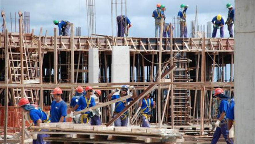 Vendas de materiais de construção caem 8,9%