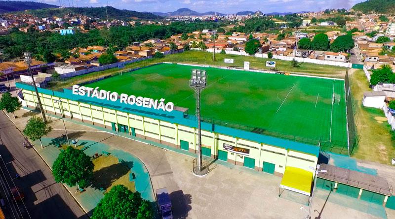 Reforma do Estádio Rosenão entra em fase de conclusão e será entregue em grande evento