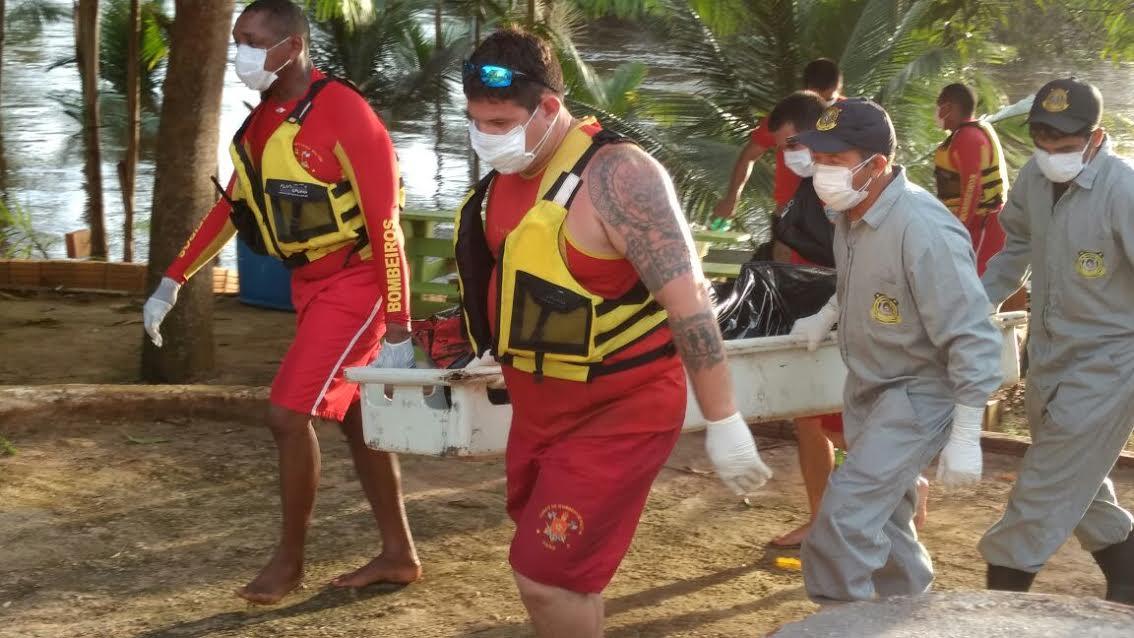 Homem que se afogou no rio Parauapebas é encontrado pelo corpo de bombeiros