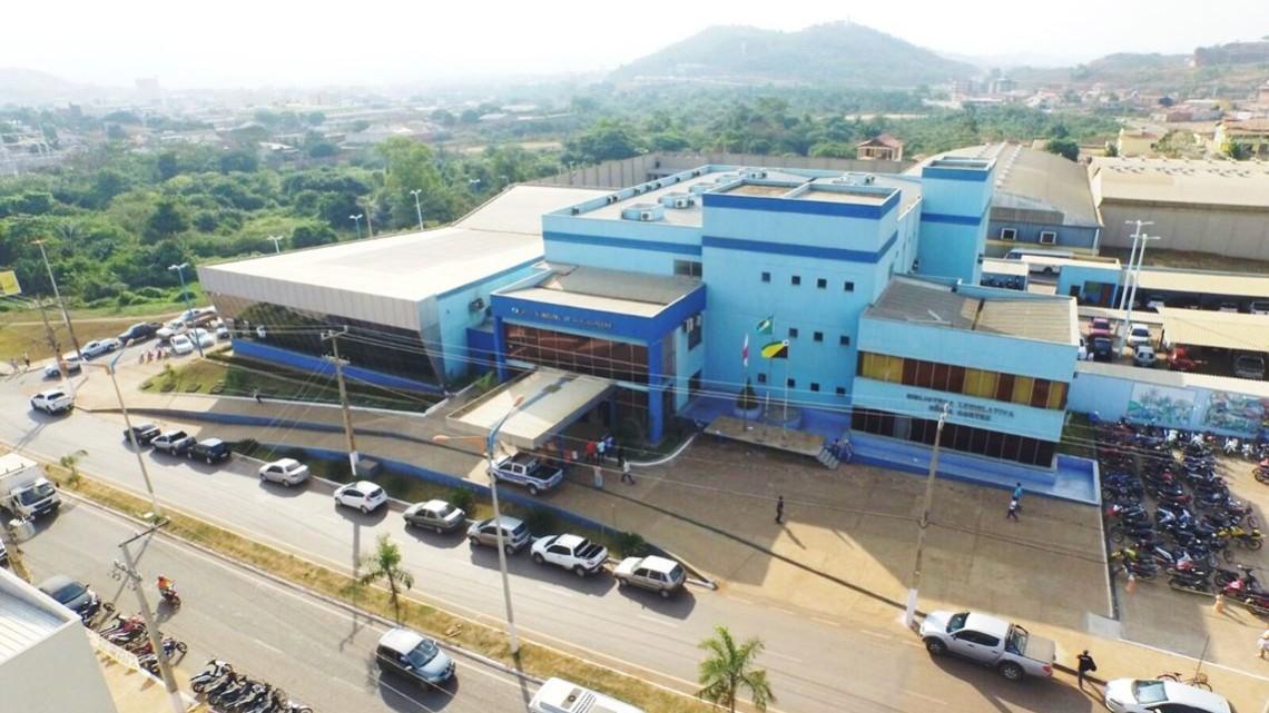 Pauta da sessão ordinária na Câmara Municipal de Parauapebas