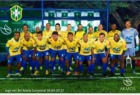Seleção de Parauapebas jogará contra a seleção brasileira master no Rosenão
