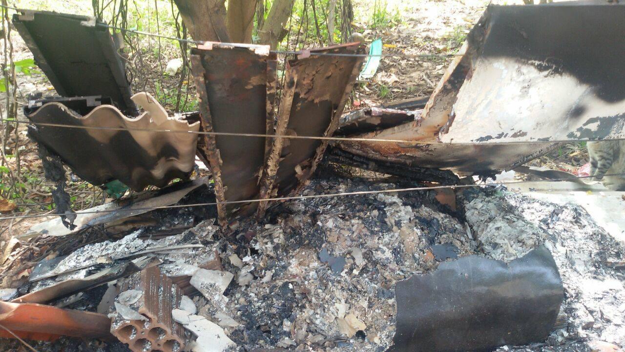 Em Parauapebas, vândalos ateiam fogo em abrigo temporário de gatos da APAMA