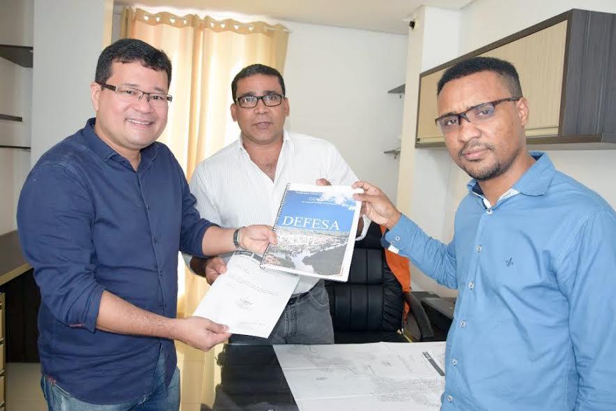 Defesa Civil entrega relatório para o Projeto de Macrodrenagem em Parauapebas