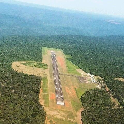 Em Parauapebas, avião realiza pouso forçado e sai fora da pista no aeroporto de Carajás