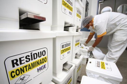 Em Parauapebas, Secretaria de Saúde realiza treinamento sobre resíduos hospitalares