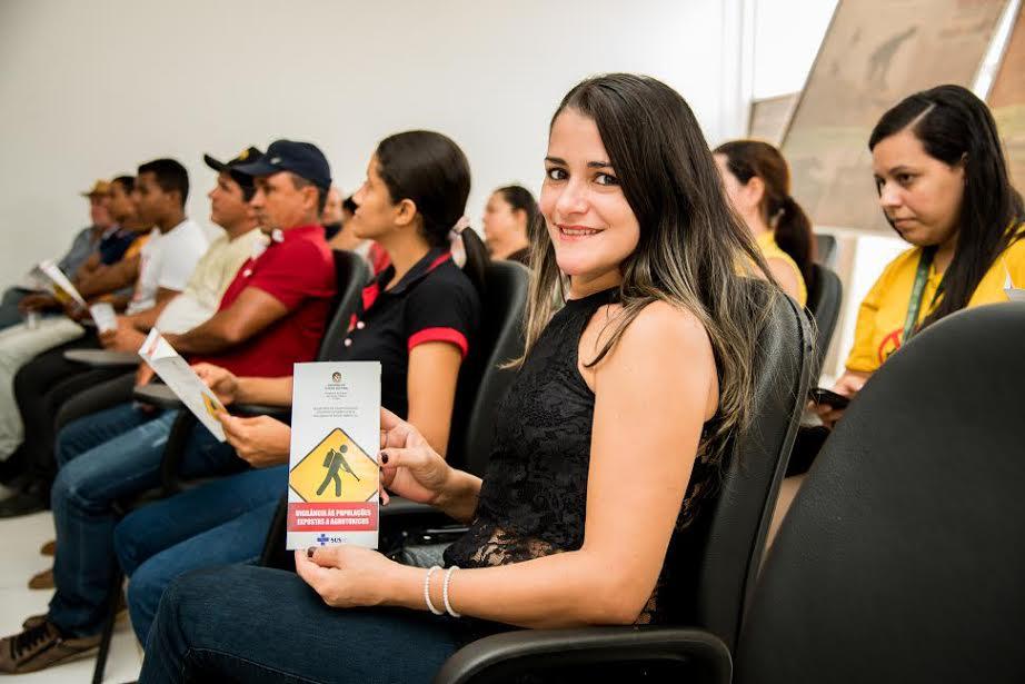Em Parauapebas, secretarias realizam palestra  sobre o uso de agrotóxicos