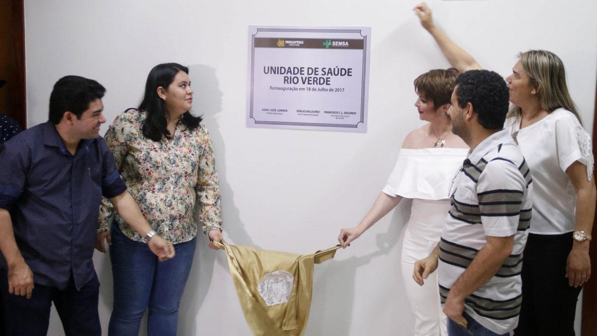 Inaugurada: Bairro Rio Verde recebe nova unidade de saúde