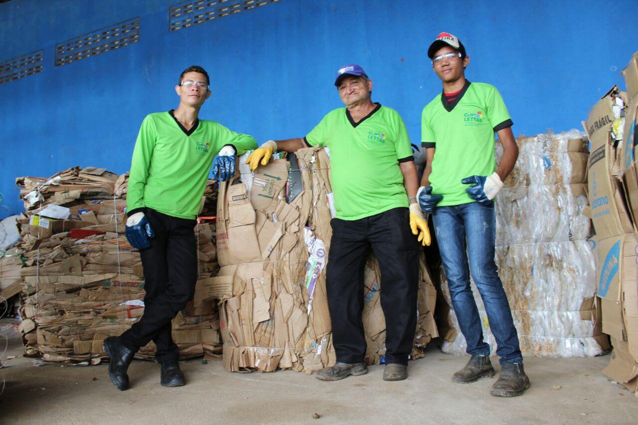 Em Canaã dos Carajás, mais de 100 toneladas de resíduos são retiradas do meio ambiente