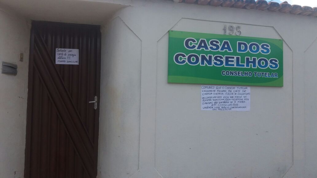Conselho Tutelar alega está sem energia, sem transporte e com salários atrasados em Curionópolis