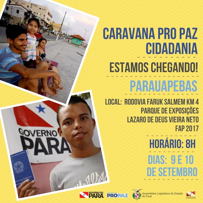 """Sábado e domingo: """"Caravana Cidadania""""  emitirá documentos na FAP cidadania"""