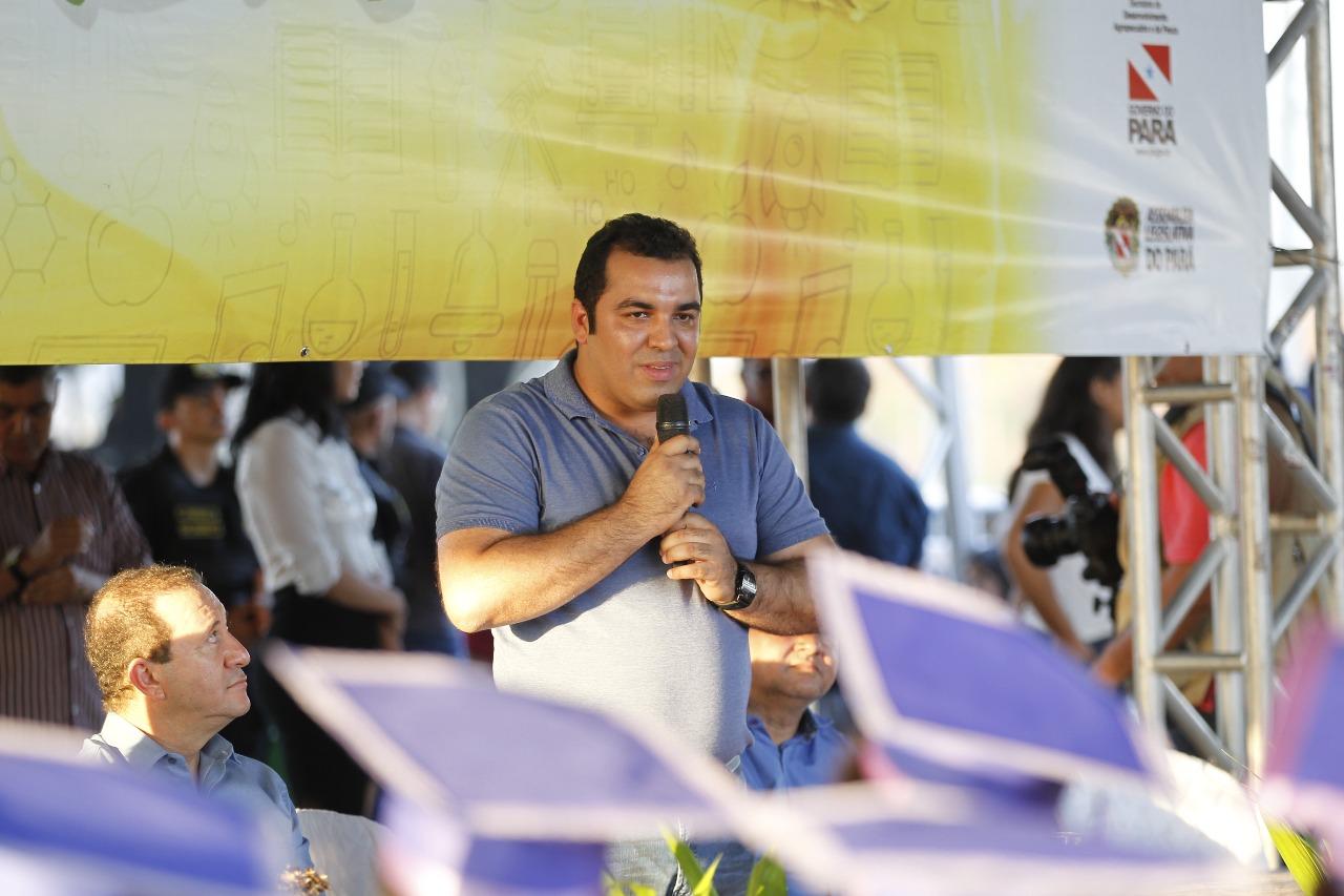Construção do mercado municipal de Curionópolis é anunciada pelo prefeito