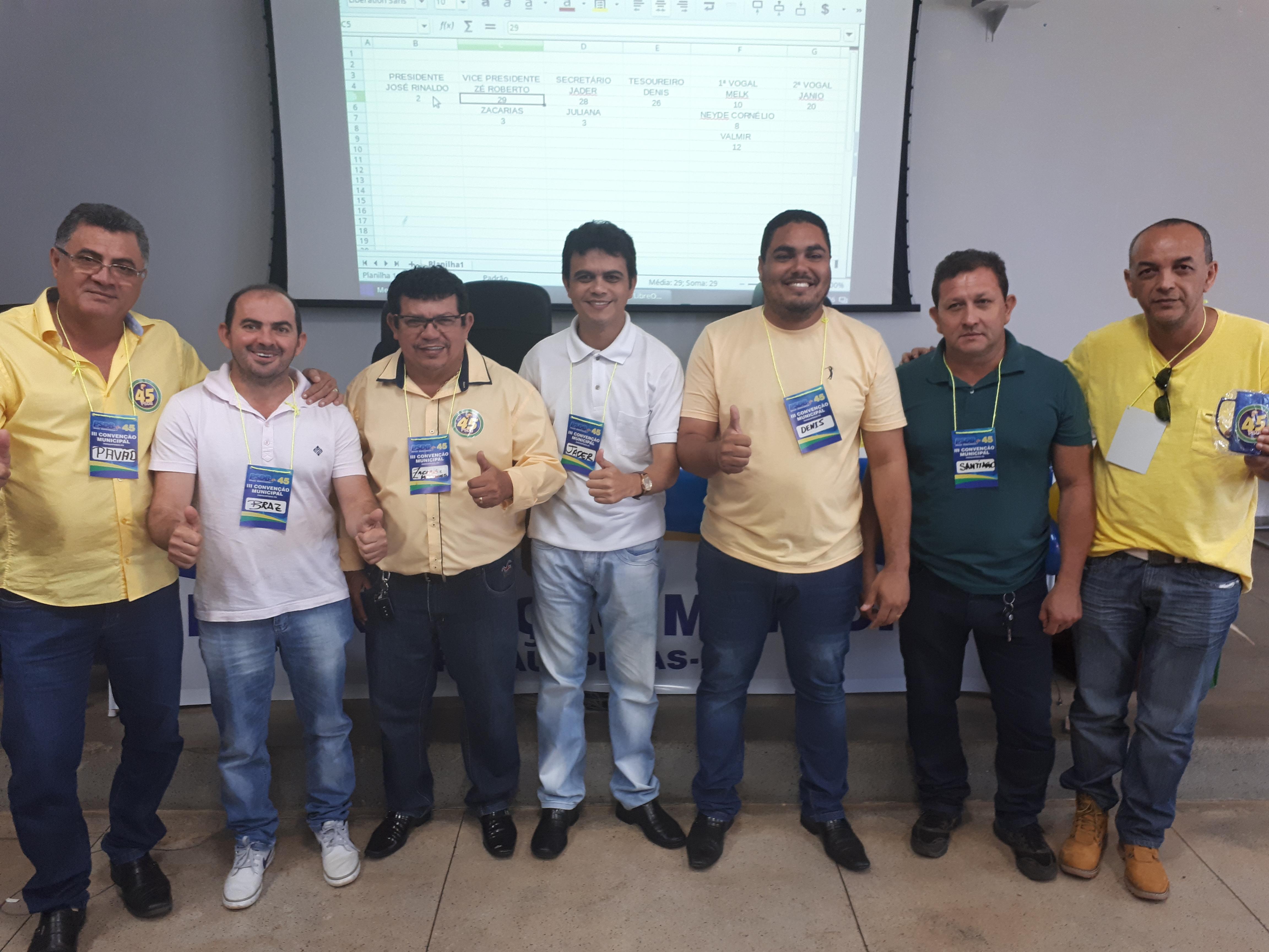 Convenção do PSDB elege executiva em Parauapebas