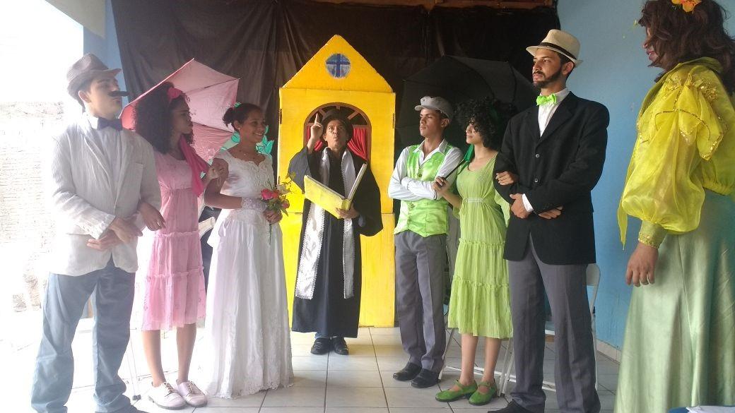 A peça de teatro 'A Socorro quer Casar' estreia na Feira do Lago em Parauapebas