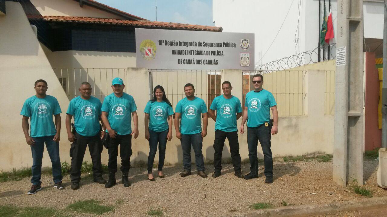 Polícia Civil de Canaã dos Carajás apoia a 'Caminhada Passos que Salvam'