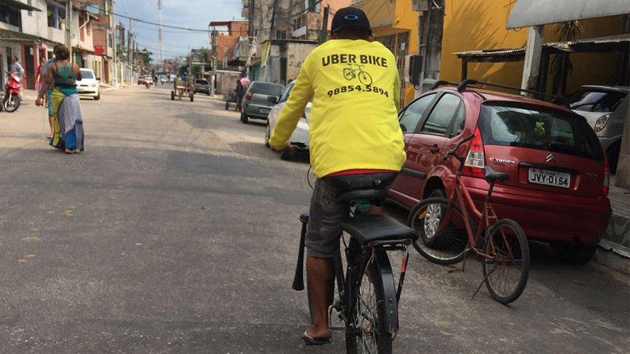 Para fugir da crise, 'empreendedor' aposta na 'Uber Bike' em Belém