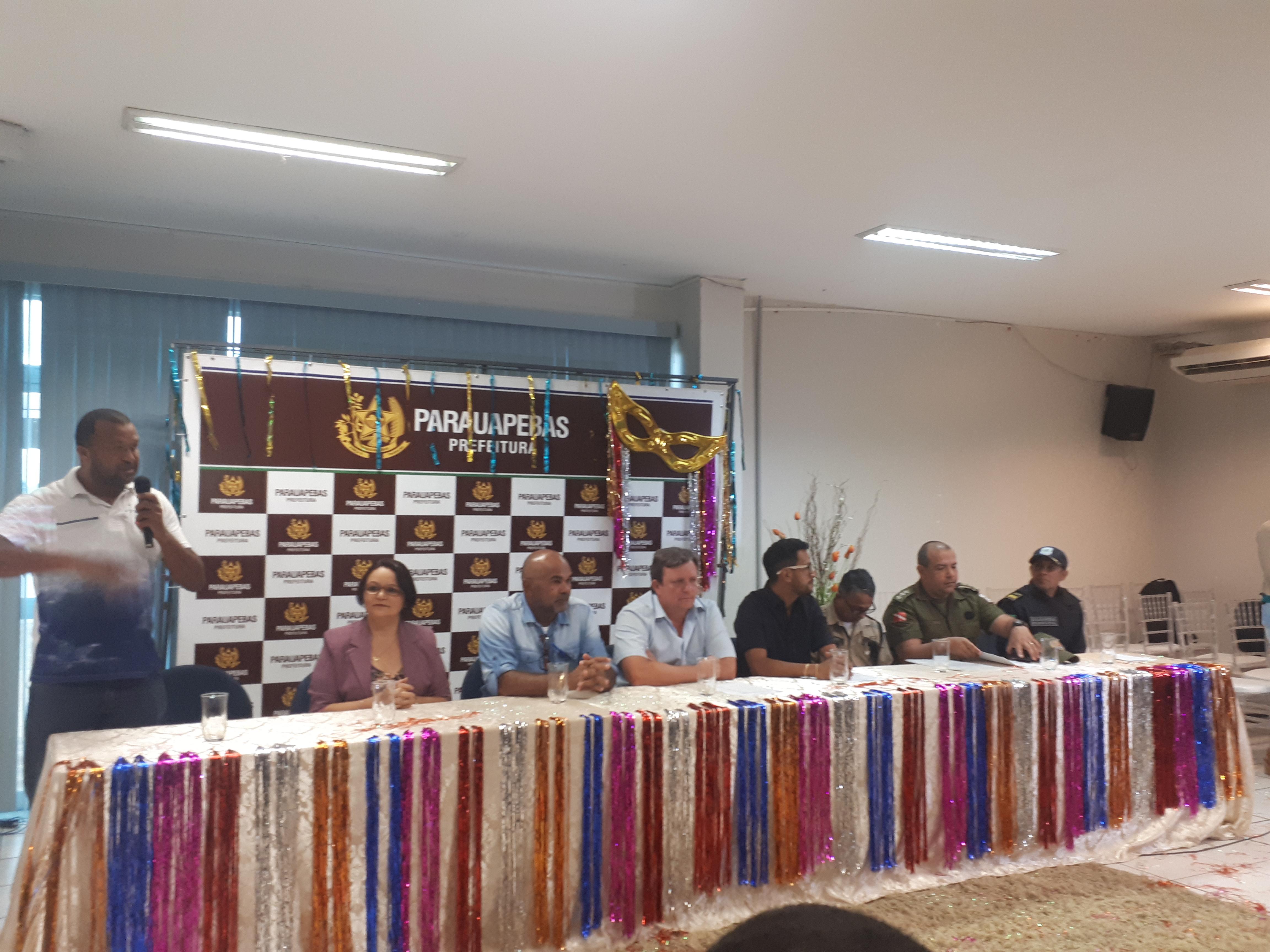 Programação do carnaval de Parauapebas é divulgada através de coletiva de imprensa