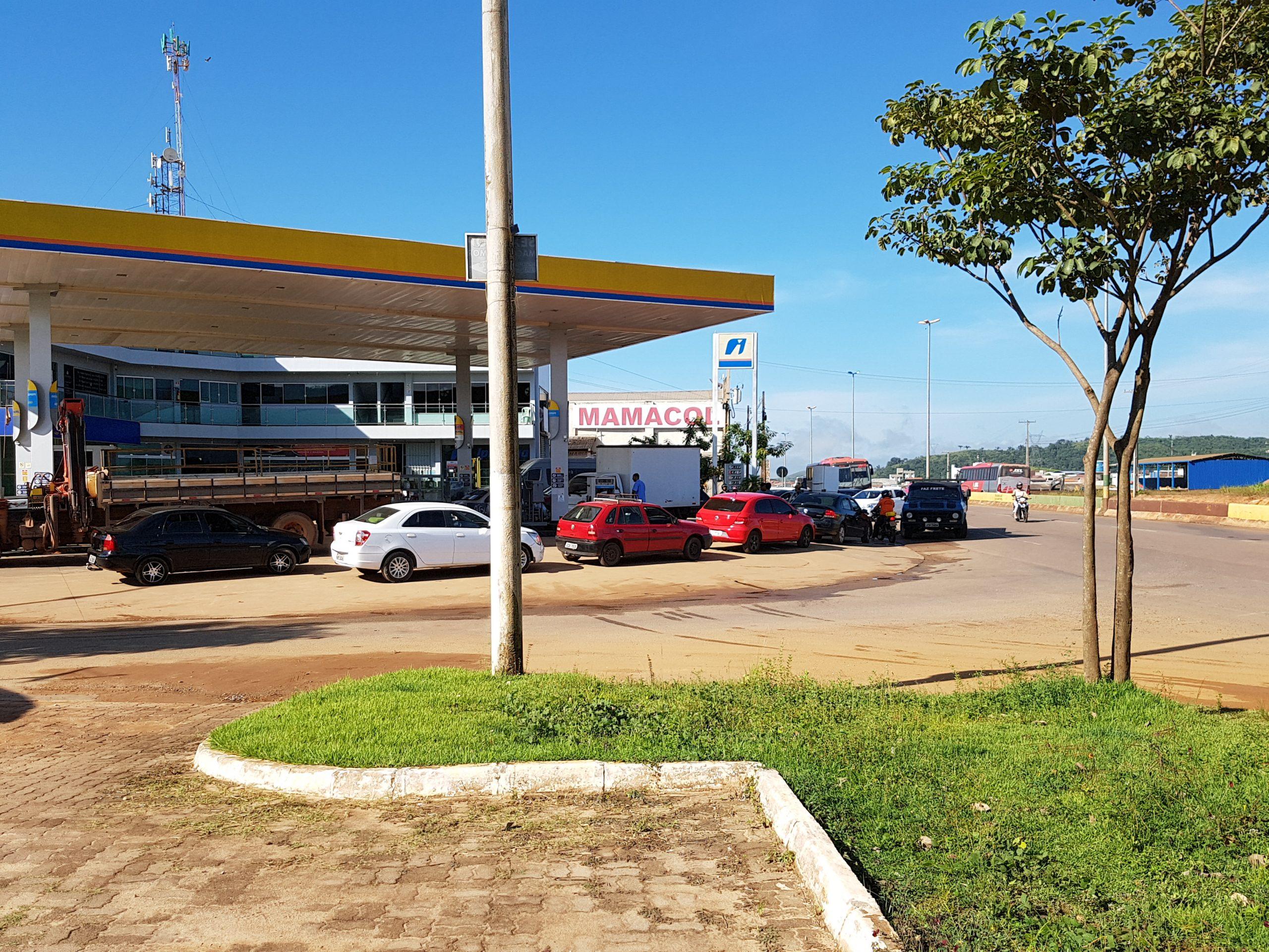 Corrida aos postos pode acelerar a falta de combustível em Parauapebas