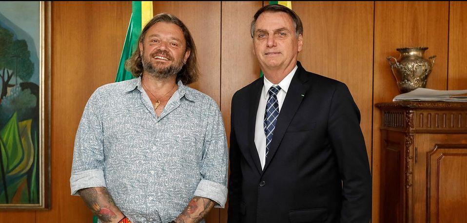 Bolsonaro anuncia Richard Rasmussen como embaixador do turismo no Brasil