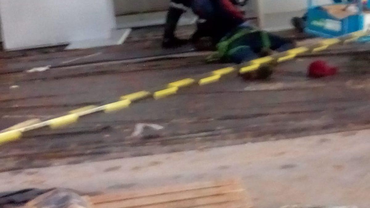 Homem morre ao cair do telhado em obra do Mix Mateus em Parauapebas