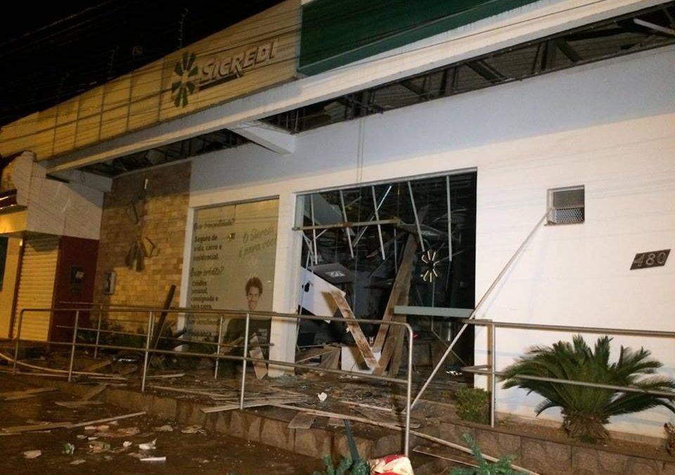 Sicredi se manifesta sobre assalto a agencia bancaria em Canaã dos Carajás