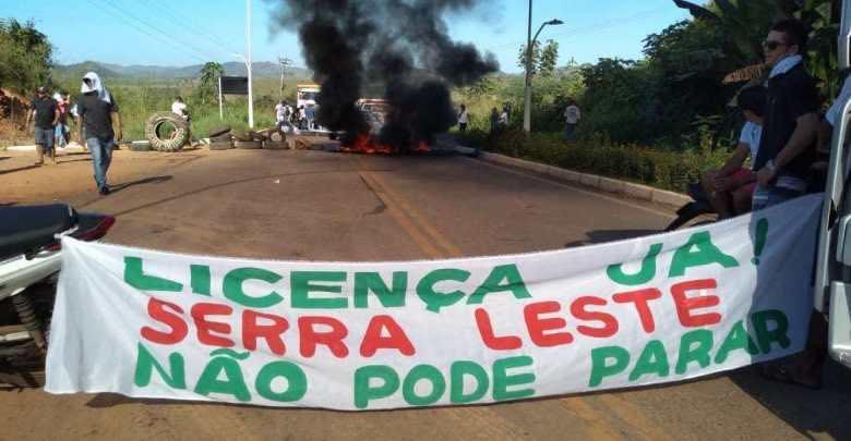 PA-275 é interditada e Prefeitura de Curionópolis se manifesta sobre projeto Serra Leste
