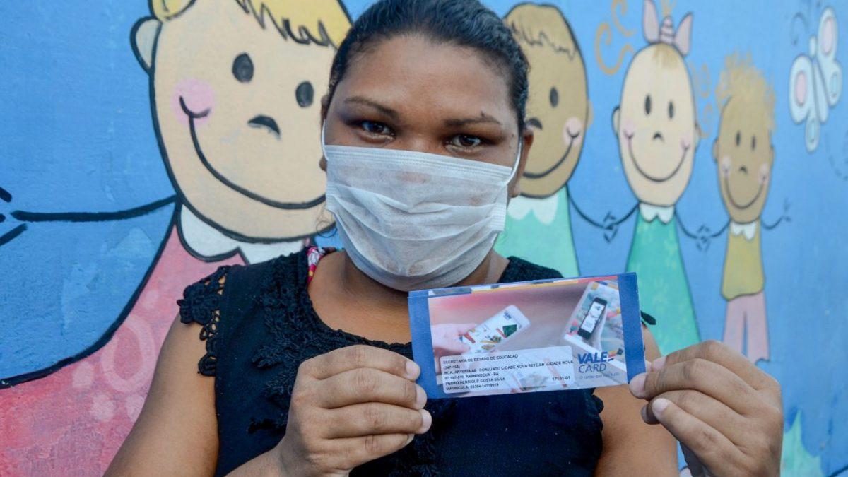 Vale alimentação do governo beneficiará cerca de 11 mil alunos de Parauapebas da rede estadual