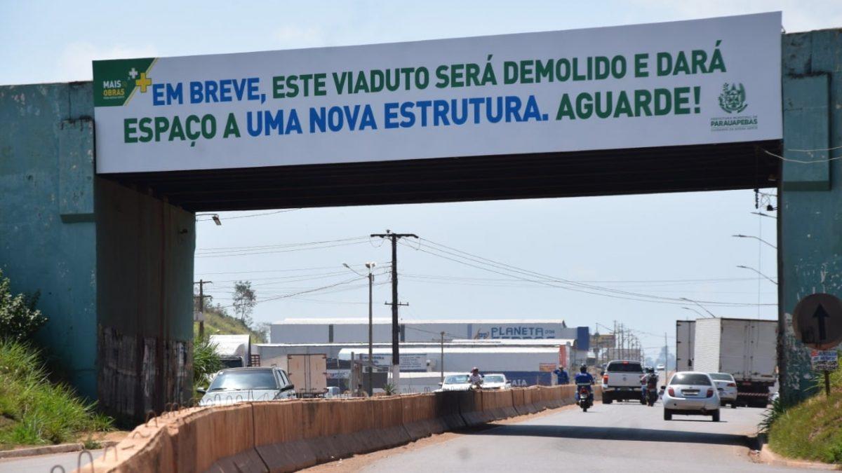 Em Parauapebas viaduto será demolido e a entrada da cidade pode superar a de Curionópolis