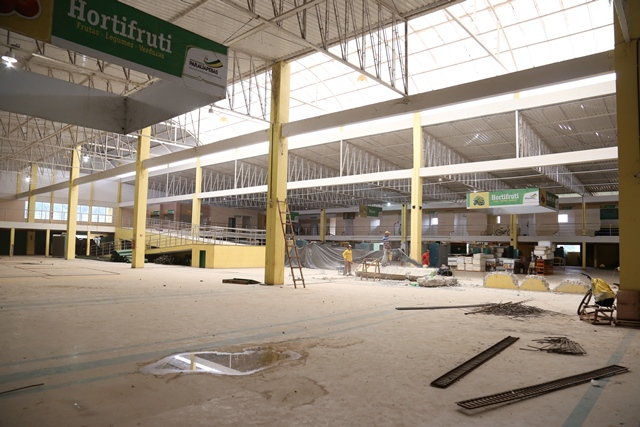 Feira do Produtor de Parauapebas passa por reforma e terá espaço mais amplo