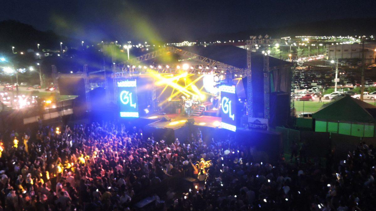 Arena Partage agita Parauapebas com grandes nomes da música brasileira