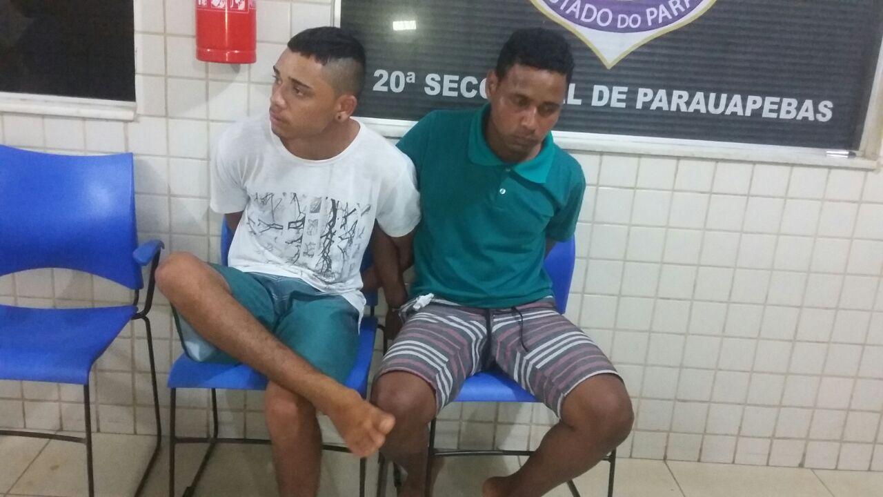 Parauapebas: Jovem que já foi preso oito vezes é apreendido novamente com comparsa por trafico de drogas